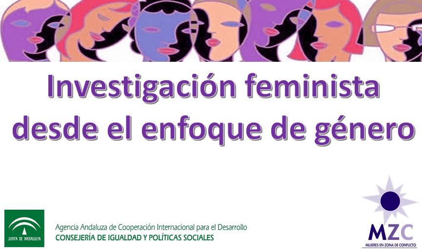 Logo Curso Investigacion Feminista