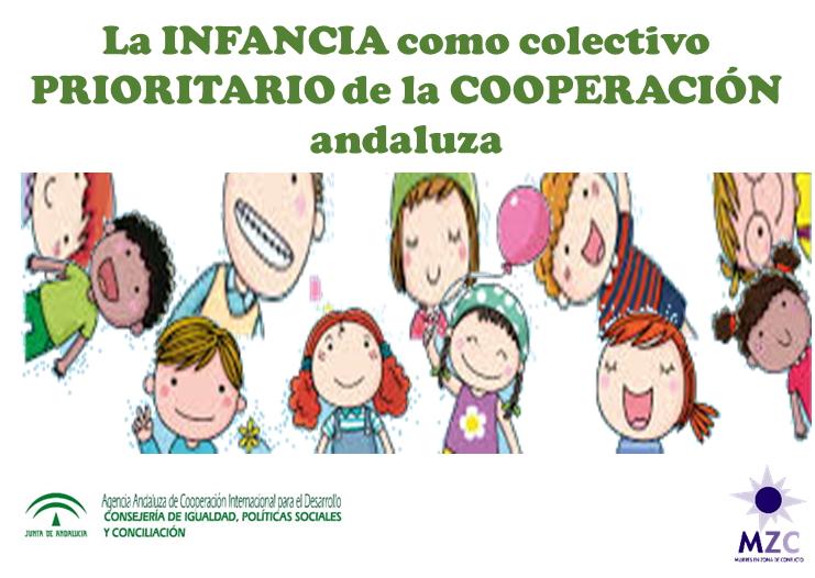 Logo Curso Infancia como colectivo prioritario