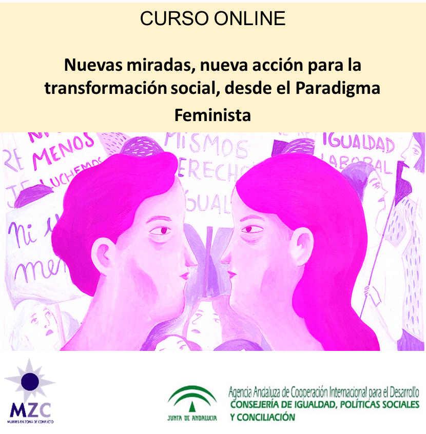 Logo Curso Miradas Feministas